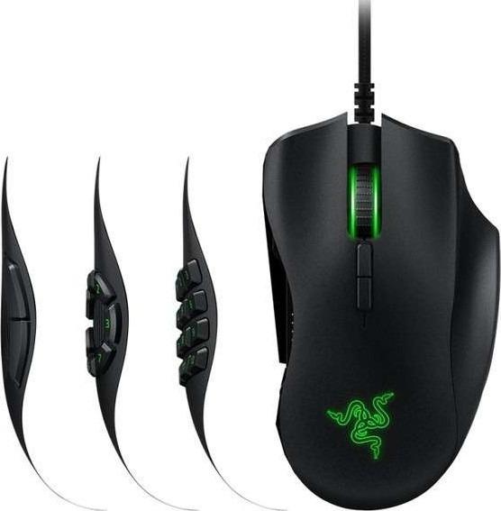 Mouse Gamer Razer Naga Trinity Chroma Mecânico 16.000 Dpi