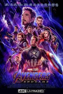 Pelicula Avengers Endgame 4k 2160p Ultrahd Online
