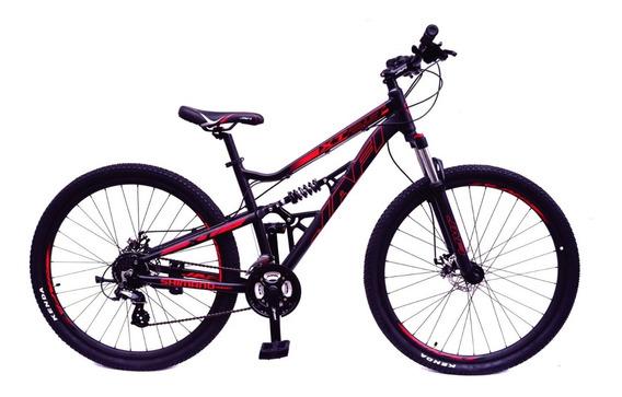 Bicicleta Jafi Montañera Xt29 Doble Suspensión 21v Aro 29