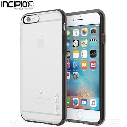 08fe7c4ca1a Funda Para iPhone 6/6s, Absorbente De Impactos, Clear/black - $ 950.00 en Mercado  Libre