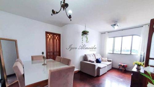 Apartamento Com 3 Dormitórios À Venda, 78 M² - Lapa - São Paulo/sp - Ap45603