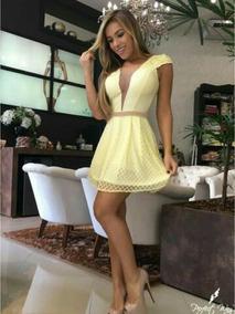 Amarelos Vestidos Perfect Way Arraste Fotos