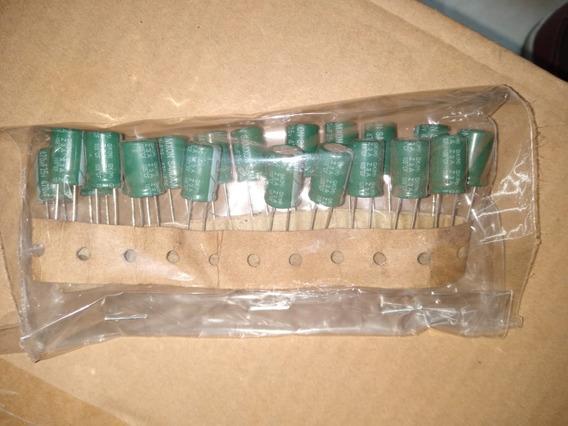 Capacitor Eletrolítico 470uf X 25v 50 Peças Pacote
