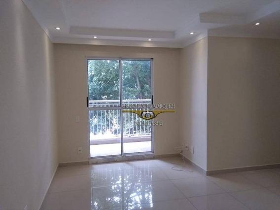 Apartamento Com 3 Dormitórios Para Alugar, 60 M² Por R$ 1.700,00/mês - Jardim Avelino - São Paulo/sp - Ap1275