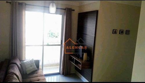 Imagem 1 de 17 de Apartamento À Venda, 48 M² Por R$ 312.000,00 - Tatuapé - São Paulo/sp - Ap0203