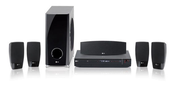 Home Theater System Lg Hdmi - Ht503sh 500 Watts - Karaokê