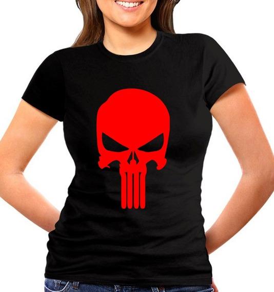 Blusas De Marvel Cleen Alexer Punisher Modelos Originales 1