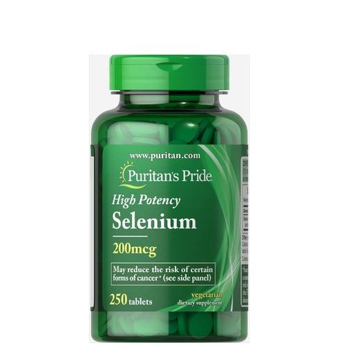 Selenio Selenium High Potency 250 Tab 200mcg