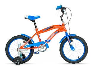 Bicicleta Para Nene Niño - Bic Crossboy Top Mega R16- Mc