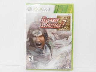 Dinasty Warriors 7 Xbox 360