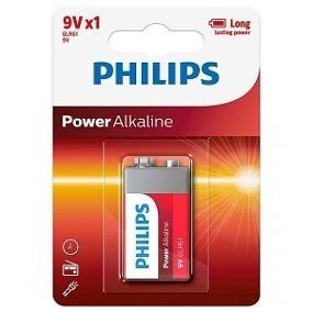 Bateria 9v Philips Alcalina Original