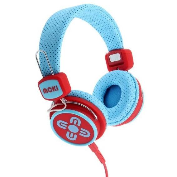Audifonos Diadema C/volumen Limitado Niños Moki Acc-hpkspp-b
