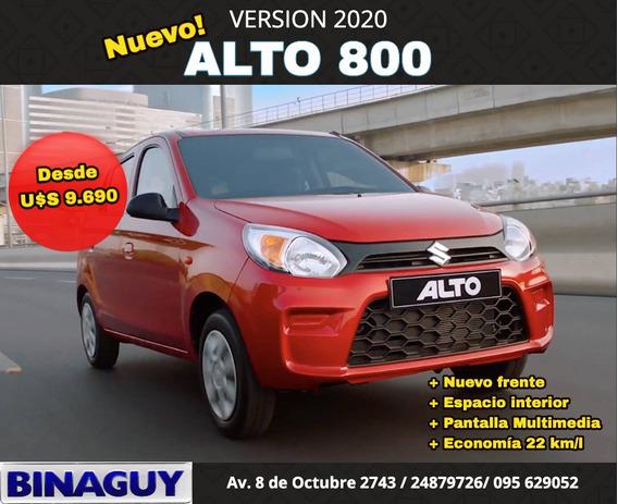 Suzuki Alto 800 Ga / Dir. Y Aa / 2020 / Reserve El Suyo!