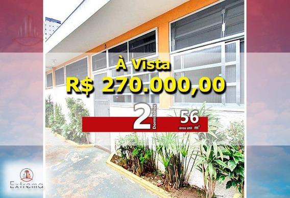 Casa Com 2 Dormitórios À Venda, 56 M² Por R$ 270.000,00 - Vila Guilhermina - Praia Grande/sp - Ca0067