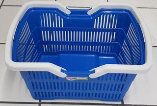 Canasta Multiusos Grande Super Servicio Plastico Reforzado