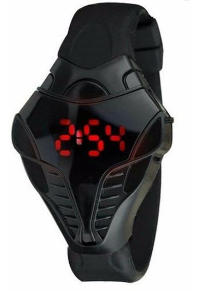 Relógio De Led Cobra Com Calendário Com Caixa