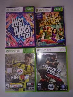 Juegos Xbox 360 $600 C/u