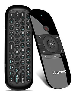 Mini Air Mouse, Wechip 2.4g Smart Tv Teclado Inalambrico Fly