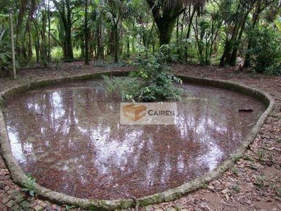 Terreno Residencial À Venda, Chácaras Bocaiúva Nova, Campinas. - Te0552