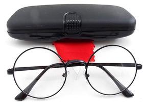 094560329 Armação Metal Óculos Redondo Retrô John Lennon 5.2 Cm 4 Cor