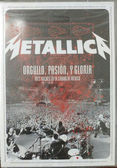 Metallica Orgullo Pasion Y Gloria Dvd Nuevo Sellado