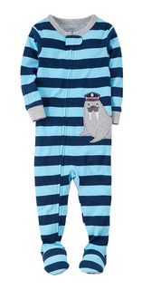 Carters - Snug Fit Cotton Onepiece Pjs - Baby Boy Body Nene