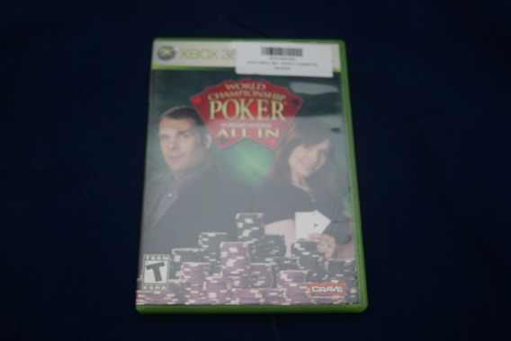 Jogo Xbox 360 - World Champioship Poker All In