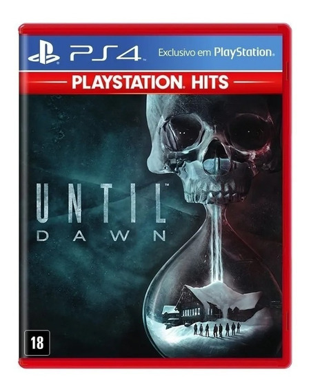Until Dawn Ps4 Midia Física Totalmente Em Português + Nf