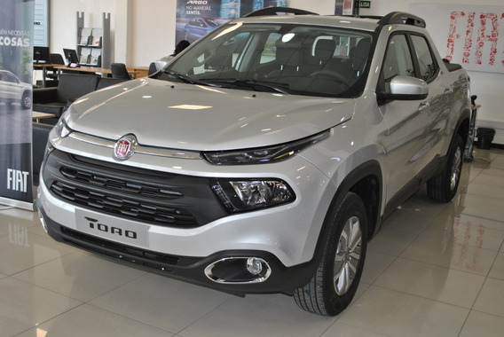 Fiat Toro 1.8 Freedom Nafta At6 2018 Gris