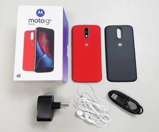 Moto G4 Plus Novo + 2 Brindes