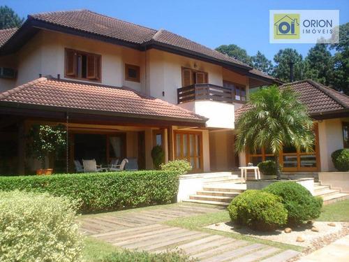 Casa Com 4 Dormitórios À Venda, 750 M² Por R$ 4.250.000,00 - Aldeia Da Serra - Barueri/sp - Ca0291