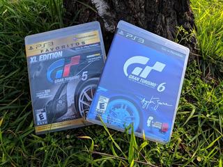 Gran Turismo 5 Xl Edition + Gran Turismo 6. Envío Gratis