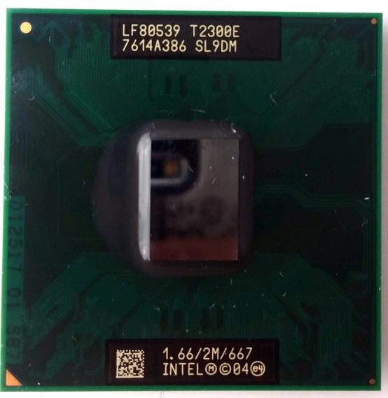 Processador Intel Core Duo T2300e 2m 1.66 Ghz 667 Mhz Sl9dm
