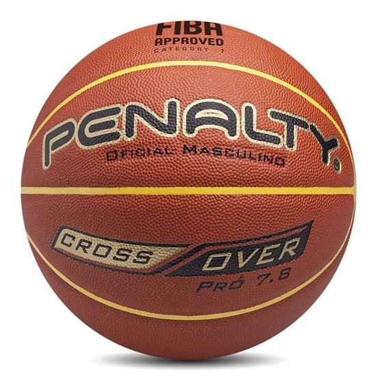 Bola De Basquete Penalty Pro 7.8 Oficial Masculina