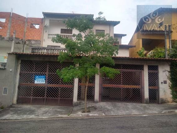 Sobrado Com 5 Dormitórios À Venda Por R$ 890.000,00 - Jardim Carlos Cooper - Suzano/sp - So0176