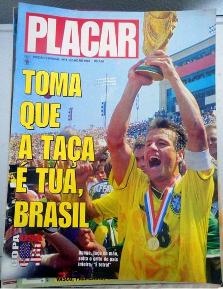 Revista Placar Ed. Especial - Julho 1994 - Brasil Tetra