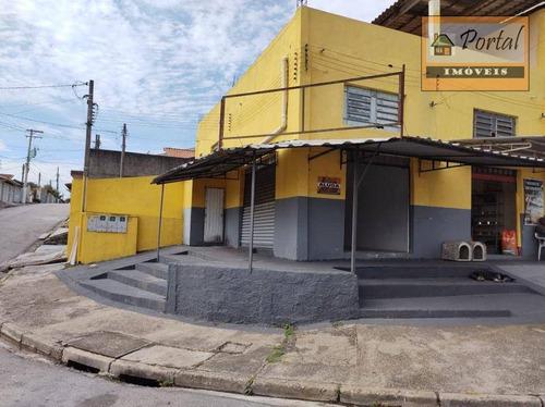 Imagem 1 de 9 de Salão Para Alugar, 50 M² Por R$ 1.000,00/mês - Parque Residencial Califórnia - Campo Limpo Paulista/sp - Sl0022