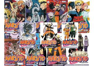Kit 6 Edições Hq Mangá Naruto Pocket Lacradas A Escolher