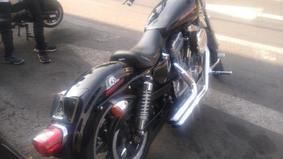 Harley Davidson Sportster 883 - 2012 Mandos Adelantados
