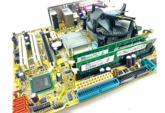 Kit Asus Ipm31 Dual Core E5700 3.0ghz 2gb Memoria + Cooler