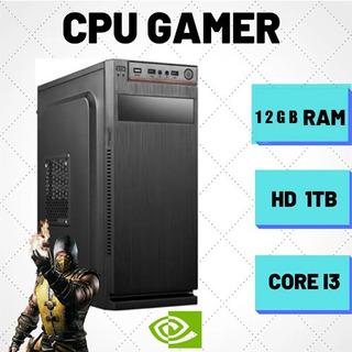 Pc/computador Gamer/stremer 12gb Ram Hyperx Custo Benefício