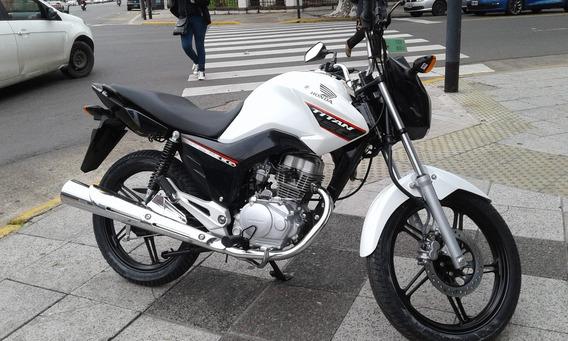 Honda Cg 150 Ym20 Titan Financioahora 12/18 0k Centro Motos