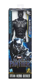 Boneco Pantera Negra Black Panther Original Hasbro