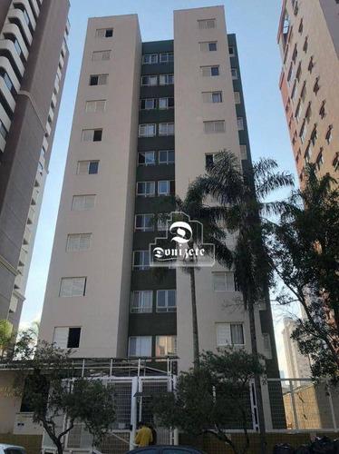 Imagem 1 de 15 de Apartamento Com 3 Dormitórios À Venda, 66 M² Por R$ 350.000,00 - Vila Bastos - Santo André/sp - Ap17293