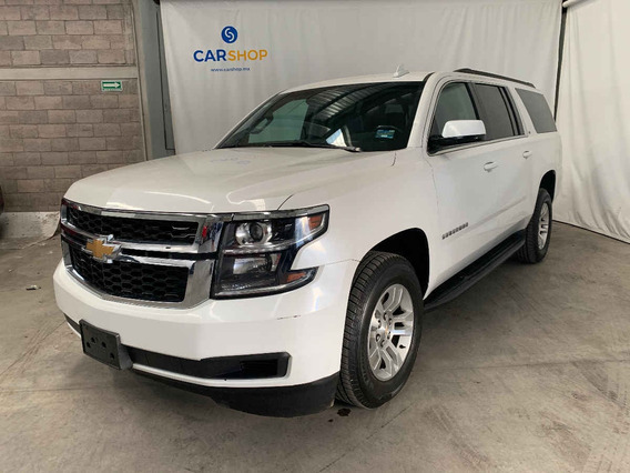 Chevrolet Suburban 2018 5p Lt V8/5.3 Aut Piel 2da/banca