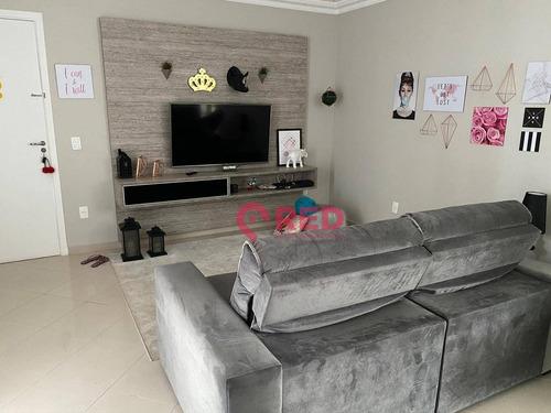 Apartamento Com 3 Dormitórios À Venda, 146 M² Por R$ 550.000 - Edifício Ravena - Sorocaba/sp - Ap0335