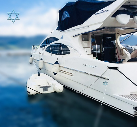 Lancha Azimut Intermarine 46 Barco Iate N Phantom Catamarã