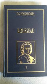 Livros Da Coleção Os Pensadores, Rousseau E Adorno