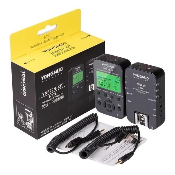 Rádio Flash Yongnuo Yn 622n Tx I-ttl Yn 622n Kit Para Nikon