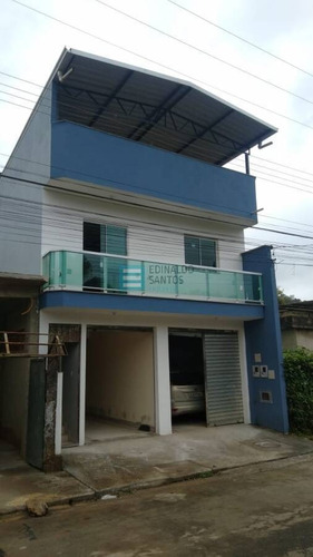 Imagem 1 de 15 de Edinaldo Santos - Casa 2/4 E Loja Comercial No Cetro De Dias Tavares - 766